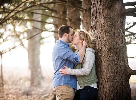 Naperville Engagement // Shauna + Kevin + Charlie