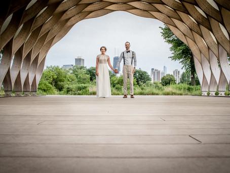 An Intimate Summer Celebration: Sidebottom-Wilkinson Wedding