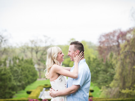 Cantigny Park, Wheaton Engagement // Krystal + Lukas