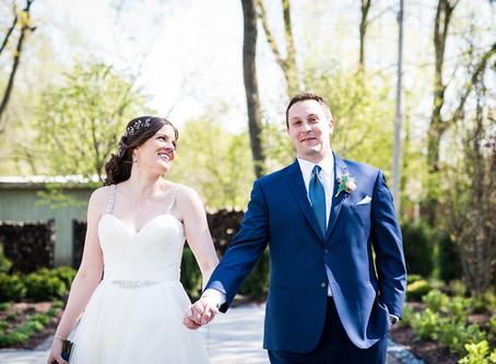 Jenny + Andrew's Wedding // Warehouse 109, Plainfield IL