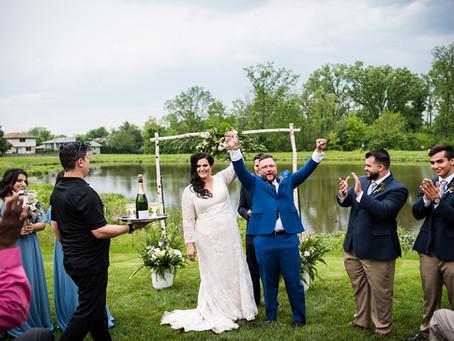 Bridgette + Todd // Lockport Home Garden Party Wedding