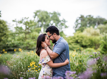 Crystal and Ricky // Summertime Chi Engagement