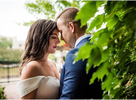 Elements at Water Street Wedding // Kathryn & Grant