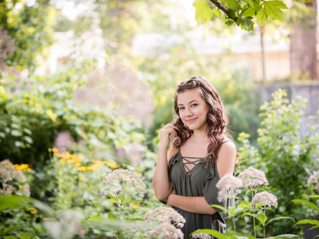 Naperville Senior Portrait Session