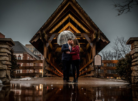 Naperville Engagement // Jenny + Andrew