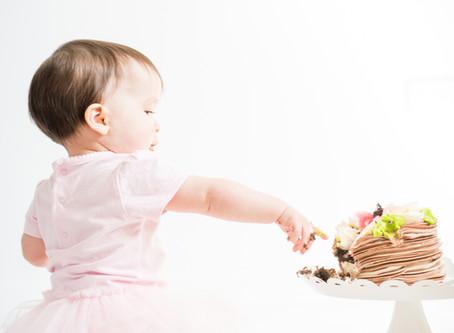 Naperville Family Photography // Mila's Cake Smash!