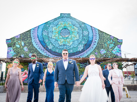 West Loop, Chicago // Christy and Ed Rock their Wedding in Style