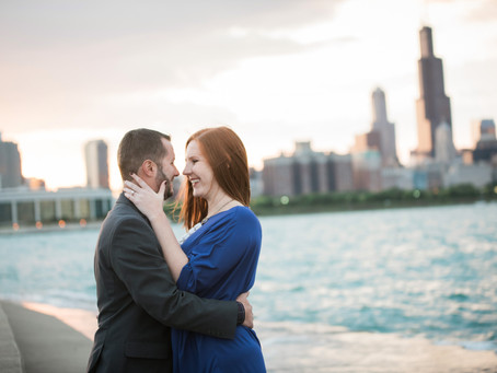 Pilsen and Chicago Lakeside // Nicole + Andrew's Engagement Session