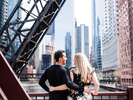 Chicago Engagement // Stephanie + John