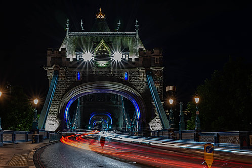 Tower Bridge Car Trails