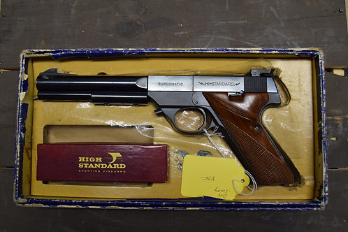 High Standard Supermatic As New with Box! .22 LR