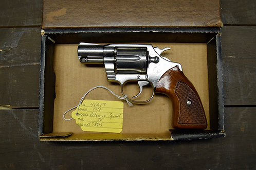 Colt Detective Special 3rd Issue Nickel 1976 w. Box!