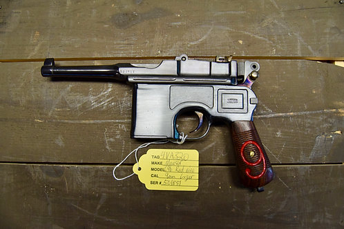Mauser C96 Post War Bolo Conversion Red 9 Gorgeous! 9mm Luger