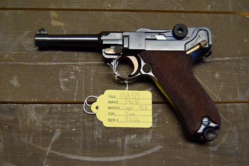 DWM Luger P08 1914 All #'s Matching! 9mm