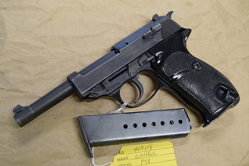 Walther P38 Commercial Postwar 1961 Interarms 9mm 2 mags