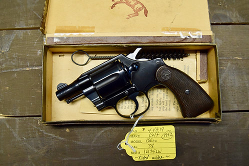 Colt Cobra 1952 Vintage 1st Issue Like New with Box!