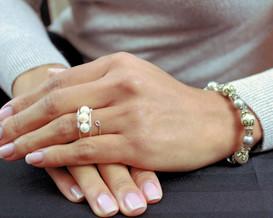 Toronto hand model elegant nails