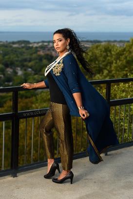 Hamilton fashion model elegant outfit