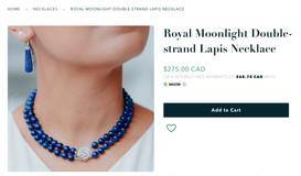 Toronto parts model necklace