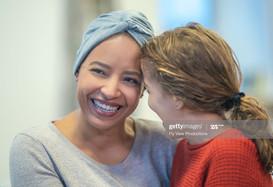 smiling medical patient