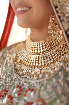 south asian bridal model