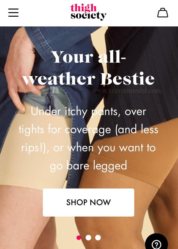 Model navy skirt shorts