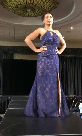 curvy runway model Kitchener fashion show