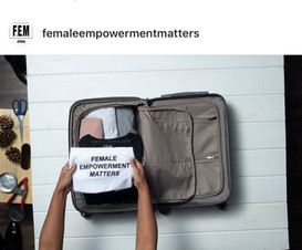 Toronto hand model packing luggage