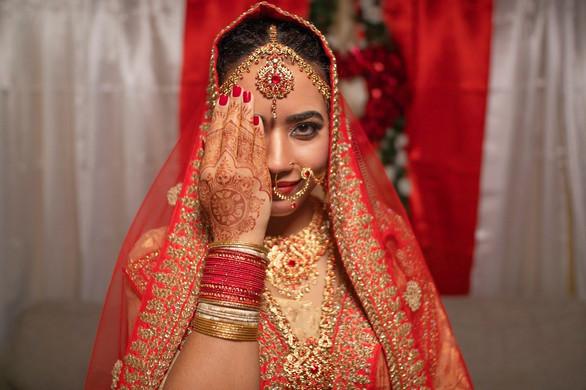 South Asian bridal henna
