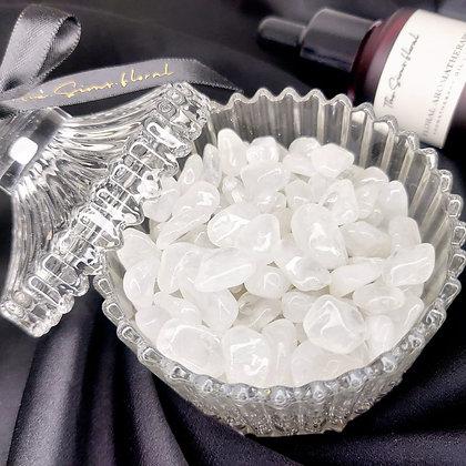 Clear Quartz Mini Candy Jar