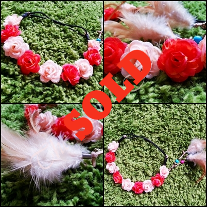 Rose Feather Crown III