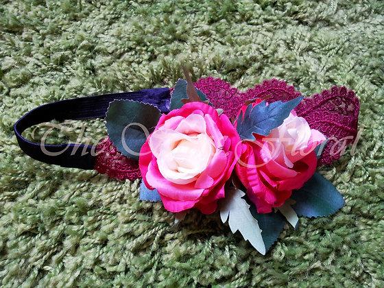Simple Rose Headband