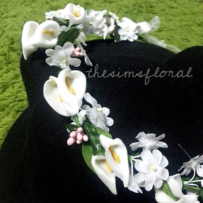 Calla Floral Headband *EXCLUSIVE*