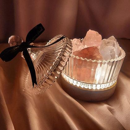 Mixed Crystals Candy Jar