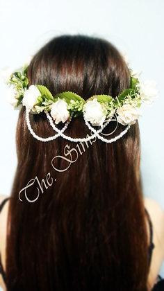 Bridal Crown w/ Pearls