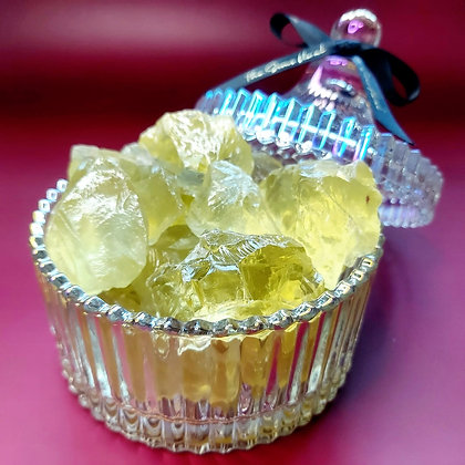 Citrine Candy Jar