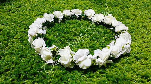Bridal Cown - White Rose