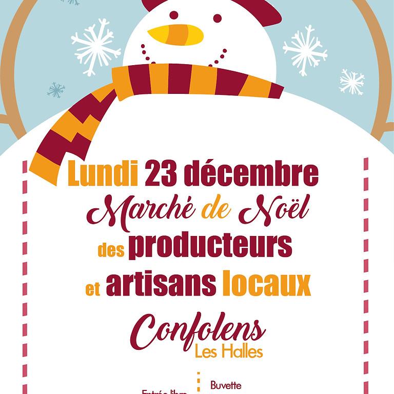 Marché de Noël des producteurs et artisans
