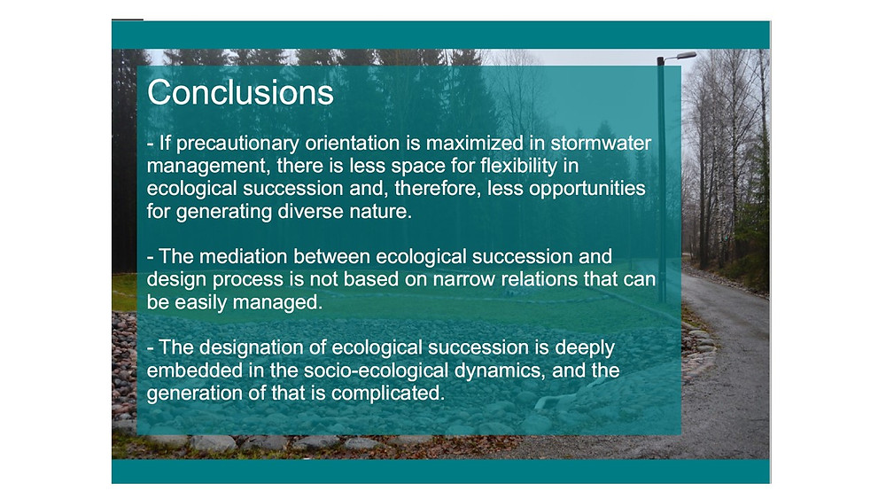 Conclusions from the presentation of Jere Nieminen