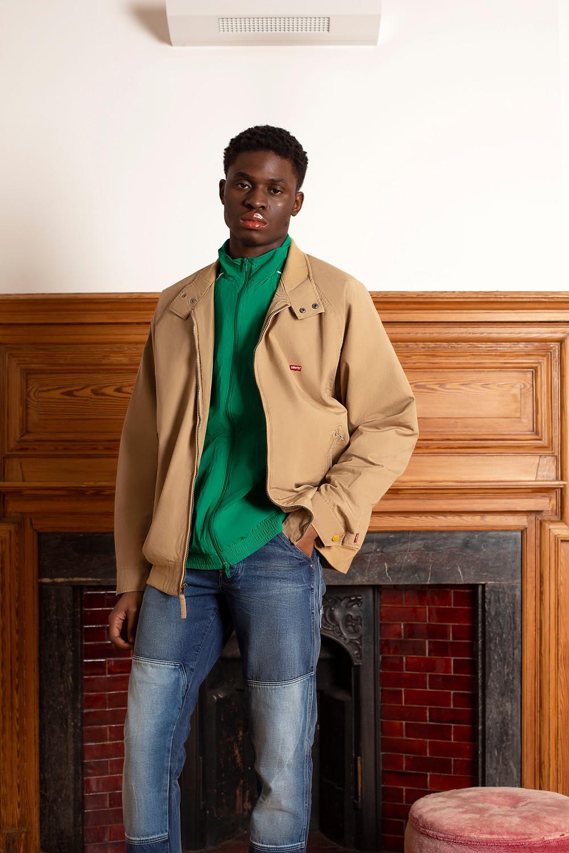 Jacket - Levis Jumper - Adidas Jeans - G-Star