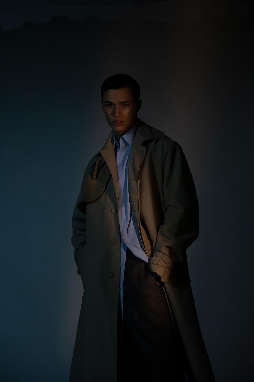 coat and shirt DIOR MEN