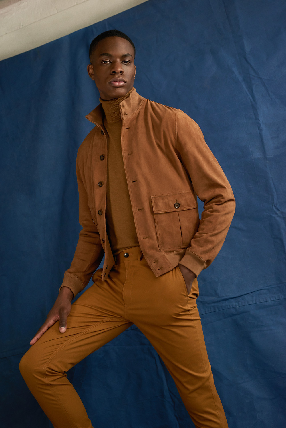 Valstar Milano 1911 Jacket; Scotch & Soda Roll Neck; Ben Sherman Trousers