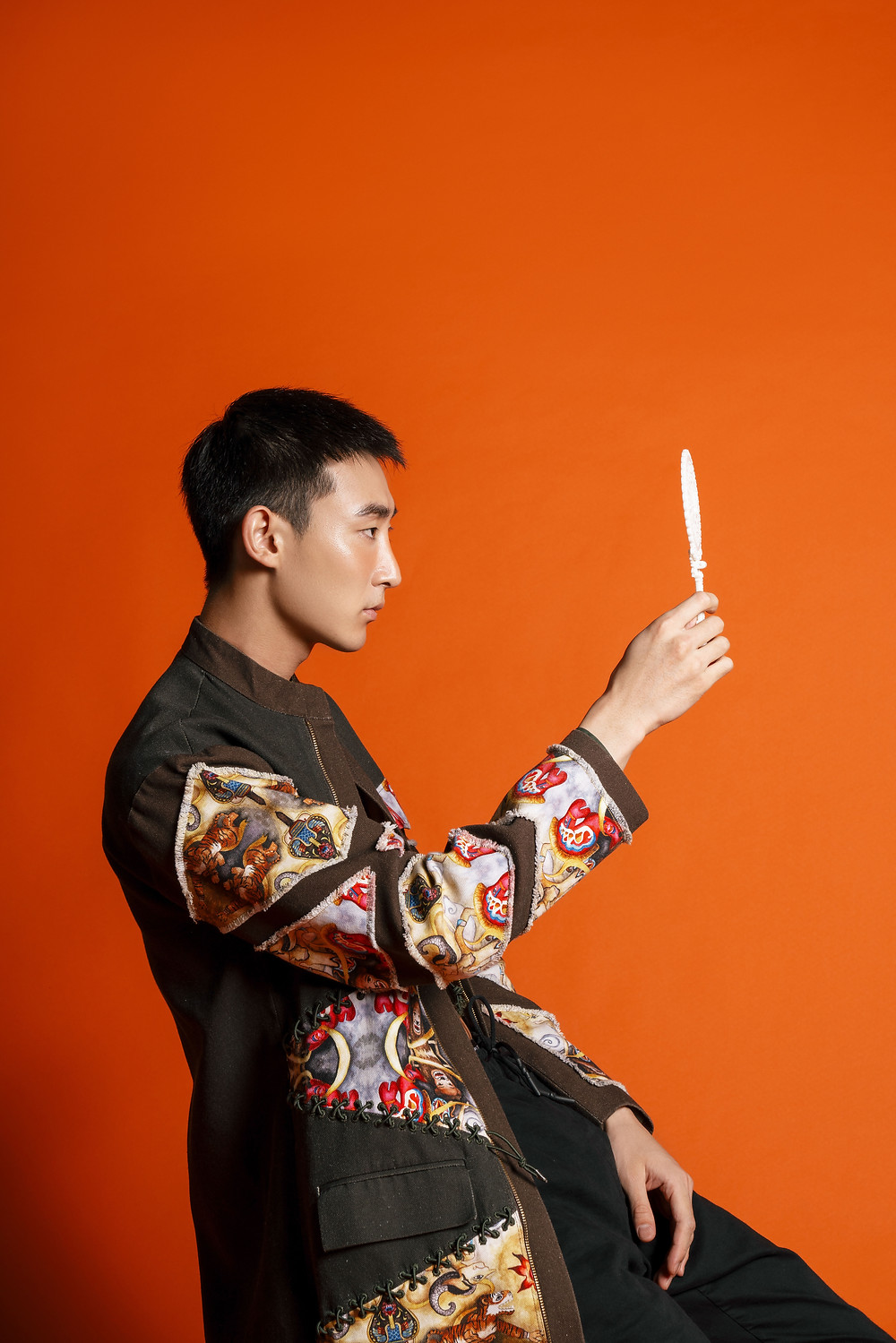 Coat Jacket from @temmaprasetio x @han_chandra GENERASI Collection, Pants @pullandbear