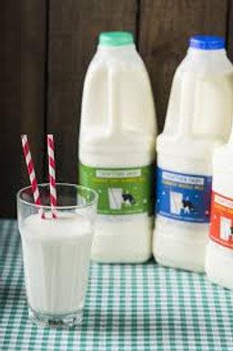 Milk Green or Blue Top 2litres