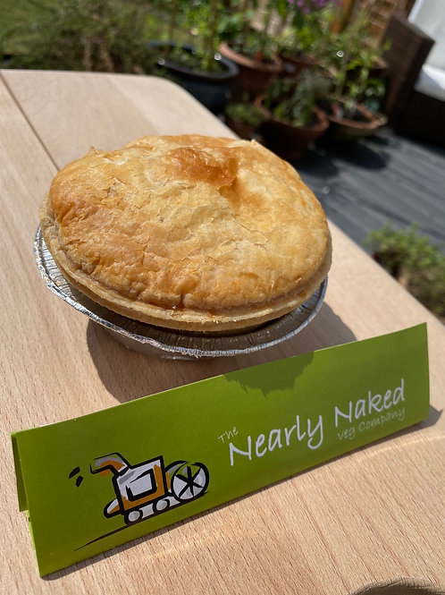 Nearly Naked Chicken and Mushroom Pie (case of 4)