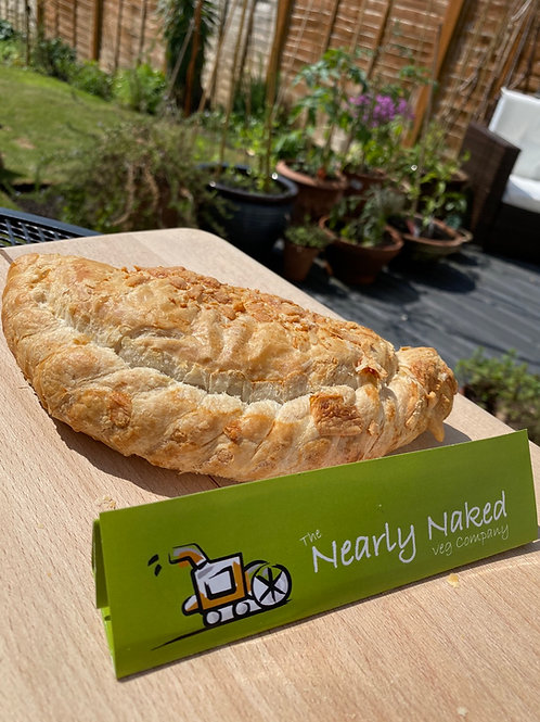 Nearly Naked Cheese and Onion Pasty (case of 4)
