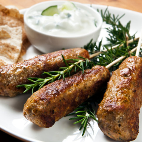 Westcountry Lamb Koftas with Pitta Breads
