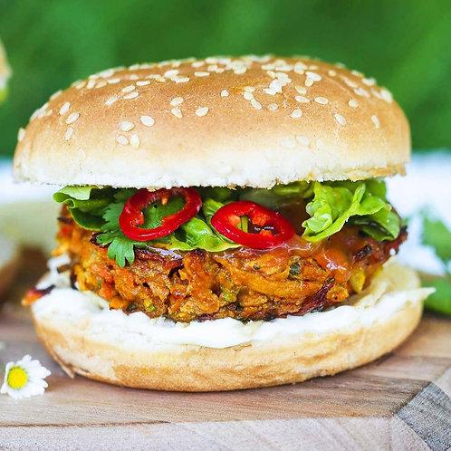 Vegan Bhaji Burgers