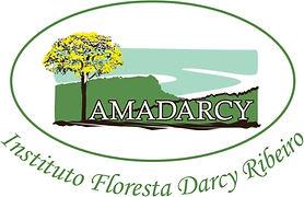 logo oval Floresta DArcy Ribeiro -  junh