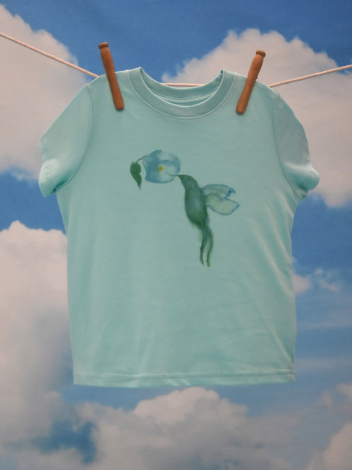 Toddler T-Shirt ~ Hummingbird on Chill